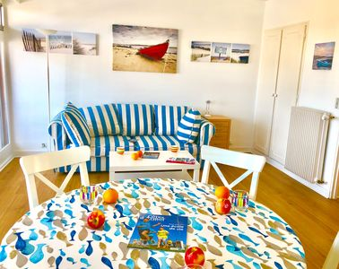 Photo for Apartment for 3/4 people in the Port of Perros Guirec, splendid sea view