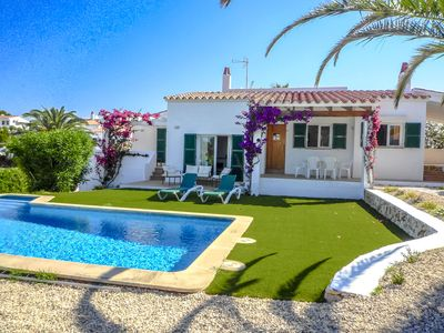 Photo for Catalunya Casas: Villa Tina for up to 6 guests, within walking distance to Menorca beaches!