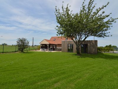Gorgeous country house with giant garden and views of the fields.