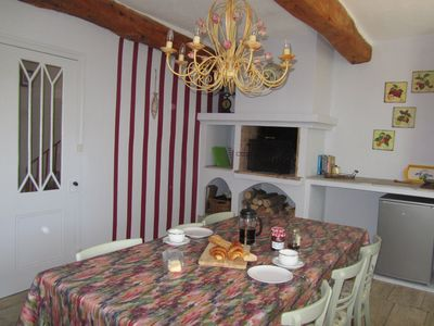 Photo for Ceret - 3 bed, historic town house with an artistic past