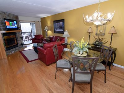 Photo for 2 BR (1K, 1Q) /2BA High Alpine Condo, Lovely Decor, Large Patio, On Site Pool