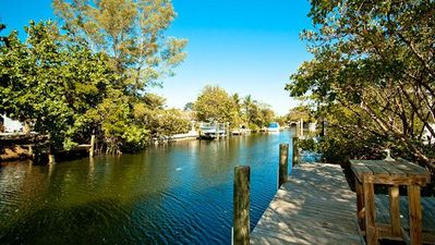 Photo for 236 Willow - Private canal home 3 Bedroom/ 2 Bath , maximum occupancy of 6 people.