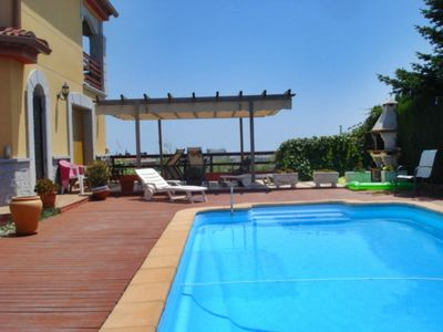 Photo for Splendid villa sea view and fabulous private pool of 45 m2