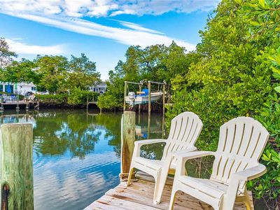 Photo for Canal Front Home with Dock and Private Heated Pool!