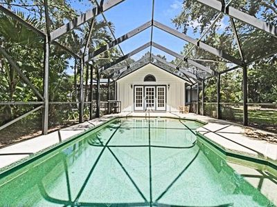 Photo for Serene Breeze, secluded, quiet home with pool