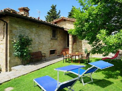 Photo for Vacation home Podere Il Casellino (LOF100) in Loro Ciuffenna - 4 persons, 2 bedrooms
