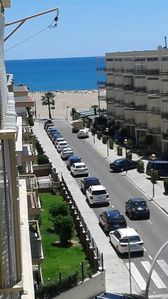 Photo for 134B Renovated apartment 2nd line of beach, sea views