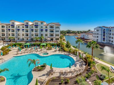 Photo for Gorgeous Luxury Condo in Ocotillo Chandler! Resort Heated Pool Views! 30 Night Minimum Stay!