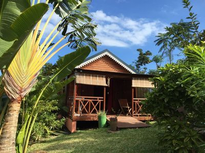 Photo for T2 chalet in madagascar wood conditioned