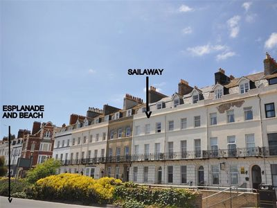 Photo for SAIL AWAY, romantic in Weymouth, Ref 994626