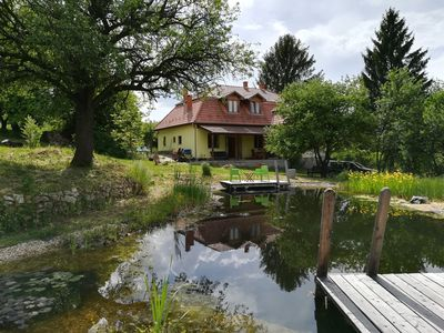 Photo for Fantastic family holiday home with ecological swimming pool surrounded by nature