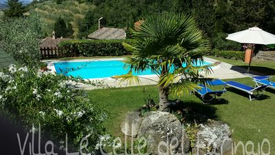 Photo for Villa in a hilly area surrounded by greenery with swimming pool and breathtaking views