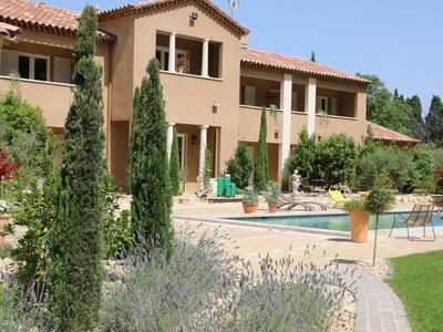 Photo for Bastide cypress for 4 people with swimming pool in the heart of the Alpilles-provence