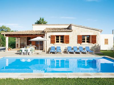 Photo for Peaceful villa in the countryside, with a pool, gardens and all modern comforts