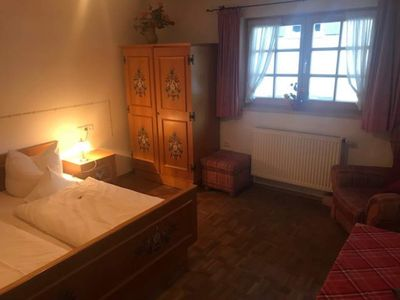 Photo for Double room (No. 3, 4-6 nights) - Pension Zum Kirchenbauer