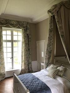 Photo for Bed and breakfast in a sublime 18th century castle bordering the river
