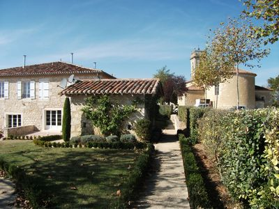 Photo for Manor house with pool, in the heart of the Gers countryside