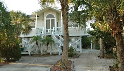 Photo for A-Lure - Single Family Home, Private Heated Pool and Boat Dock, Walk to Beach
