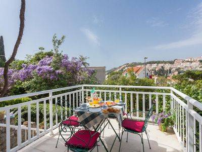 Photo for Two bedroom apartment with terrace Dubrovnik (A-4732-b)