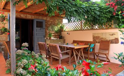 Photo for Rooms sleeps 4 in cosy cottage 20km from Siena