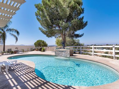 Photo for Heavenly Trebolo Home in Wine Country with pool/spa/fire pit/outdoor kitchen