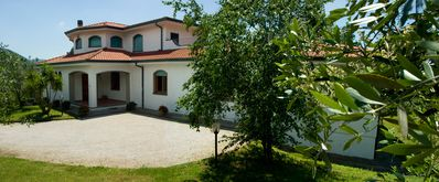 Photo for Charming Villa On The Hills Of Medieval Lucca