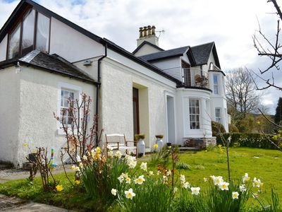Photo for Letters Lodge North, newly refurbished, balcony overlooking  Loch Fyne, sleeps 6