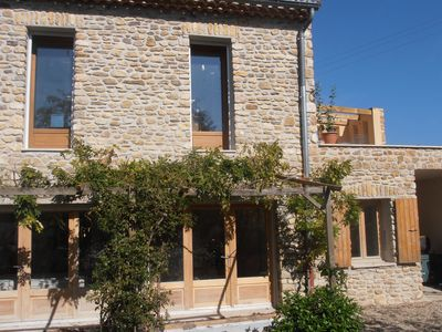 Photo for Luxury gite with private pool, wifi and stunning views, sleeps 4+