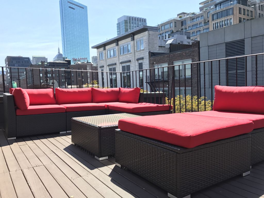 Back Bay Penthouse with 2 private decks!