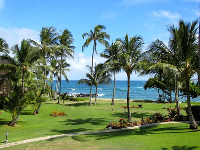 Photo for Lae Nani 423, Stunning Oceanfront View, Newly Remodeled In Tasteful Island Decor