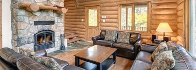 Photo for Mont Tremblant Blueberry Lake 5 Bedroom Papineau Chalet