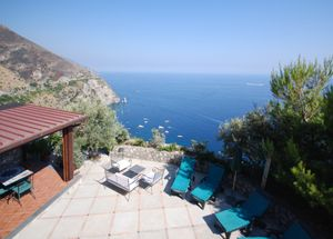 Photo for 2 bedroom Villa, sleeps 4 in Positano with Pool, Air Con and WiFi