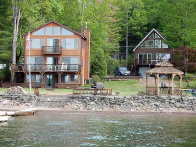 Photo for BREATHTAKING LAKEFRONT - 2 HOMES - Family Retreat - SLEEPS 24