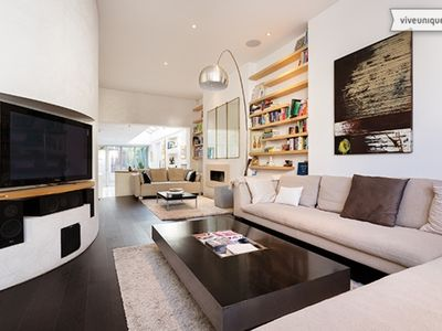 Photo for A beautiful home with beautiful outside space, located in Fulham (Veeve)