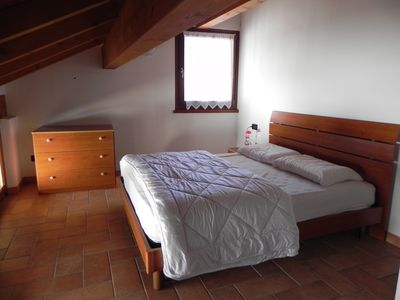 Photo for Attic with two beds in the Belluno Dolomites