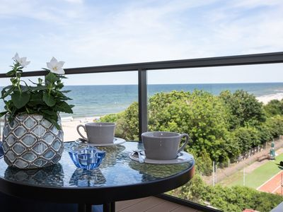 Photo for The apartment with beautiful sea view