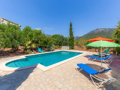 Photo for Surrounded by nature and with pool - Villa Can Tabou