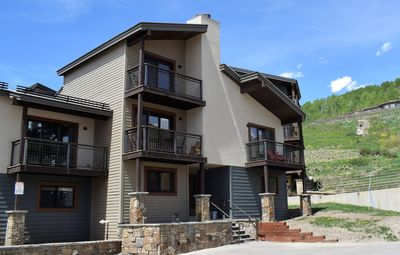 Photo for Fantastic Mtn. Condo! Walk to the Slopes! Awesome Views and Outdoor Decks!