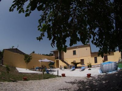 Photo for air-conditioned independent renovated holiday house 1.5 km from the center beach