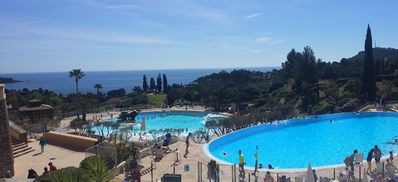 Photo for Cap Esterel 2-room apartment Ranked ***. 5 people, GREAT SEA VIEW!, AGAY St Raph