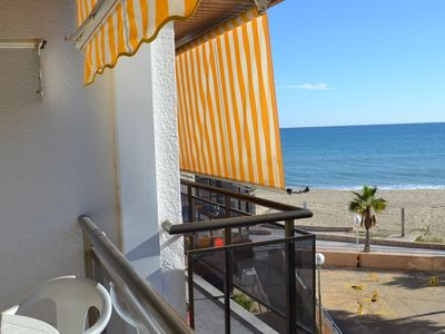 Photo for Memling:Front of the beach's Cambrils and promenade-Free Wifi & parking