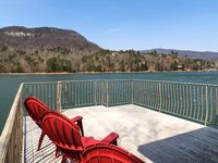A few days on Lake Lure at Le Petite Chateau with my children