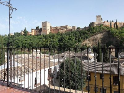 Photo for Penthouse apartment with views of the Alhambra