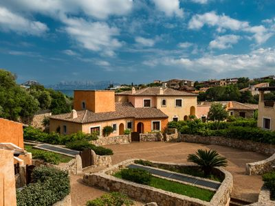 """Photo for Apartment with garden and sea view is located a new complex """"Villaggio Perlacea"""", completed in 2010,"""