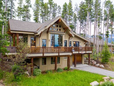 Photo for NEW LISTING! Stunning chalet with ski-in/ski-out access & a private hot tub!