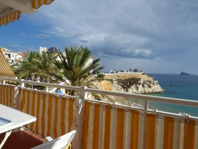 Photo for Apartment next to the beach of the port of Benidorm