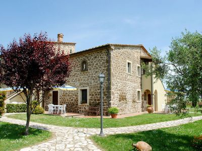 Photo for Apartment Podere Jacopo (MVC275) in Montecatini Val di Cecina - 4 persons, 2 bedrooms