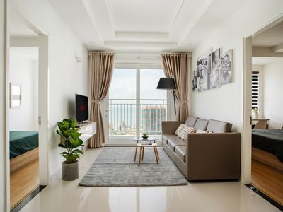 Photo for APT 23 Floor, 75m2 All view to the beach