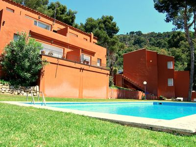 Photo for Apartment in Begur with Pool, Parking, Terrace, Washing machine (721696)
