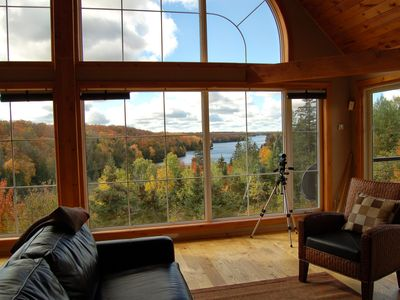 Photo for BIG Family & Multi-Family Cottage with Incredible View, Hot Tub & Sauna